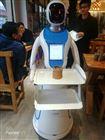 南宁大理酒楼迎来首位美女送餐机器人传菜