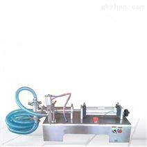 高精度卧式液体半自动灌装机