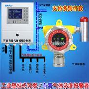 壁挂式油气气体报警器,气体报警探测器可以联动风机或关闭电磁阀门吗