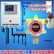 化工厂仓库溶剂油气体泄漏报警器,气体报警仪可以联动风机或关闭电磁阀门吗