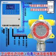 化工厂仓库酒精气体报警器,可燃气体探测器与消防喷淋设备怎么连接