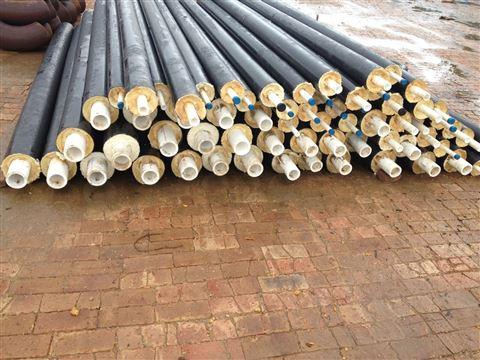 114*4聚氨酯热水直埋保温钢管厂家报价