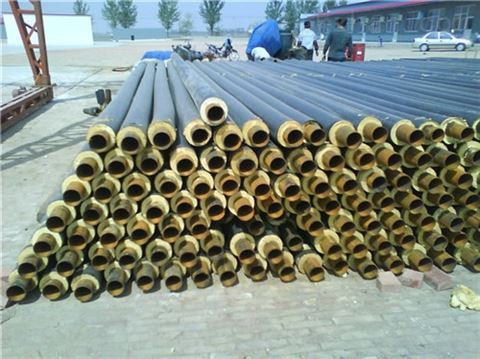 银川市聚氨酯供暖暖气保温钢管生产价格