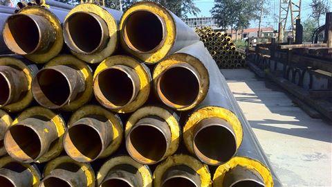 长春市直埋输水热力保温钢管安装厂家