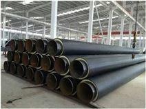 鸡西市供暖直埋热水保温钢管生产厂家