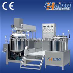 SH-SME上海新浪可倾液压升降真空均质乳化机乳化锅