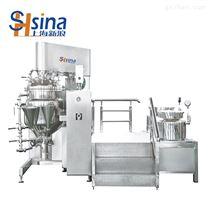 上海新浪轻工纳米级外循下均质真空乳化机