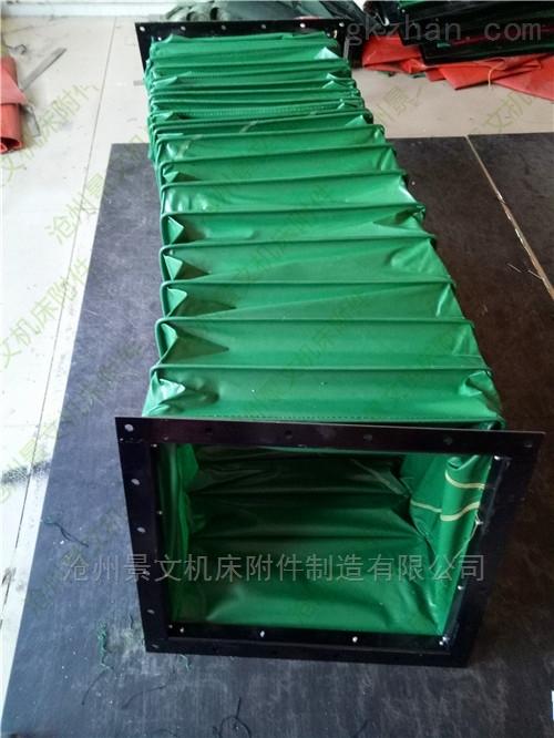 印刷机械设备方形帆布伸缩软连接厂家报价