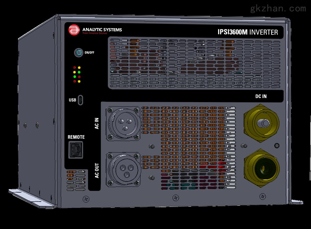 静音DC/AC -115或220 VAC / 50-400HZ
