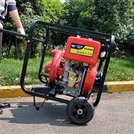 HS30HP低油耗小型3寸柴油抽水泵|小型消防水泵