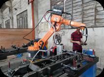 CR焊接六轴上下料机器人厂商