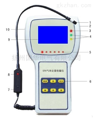 SF6红外气体定量检漏仪