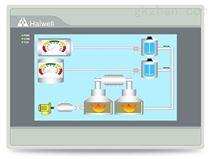 国产HMI人机界面海为7寸WIFI工业触摸屏