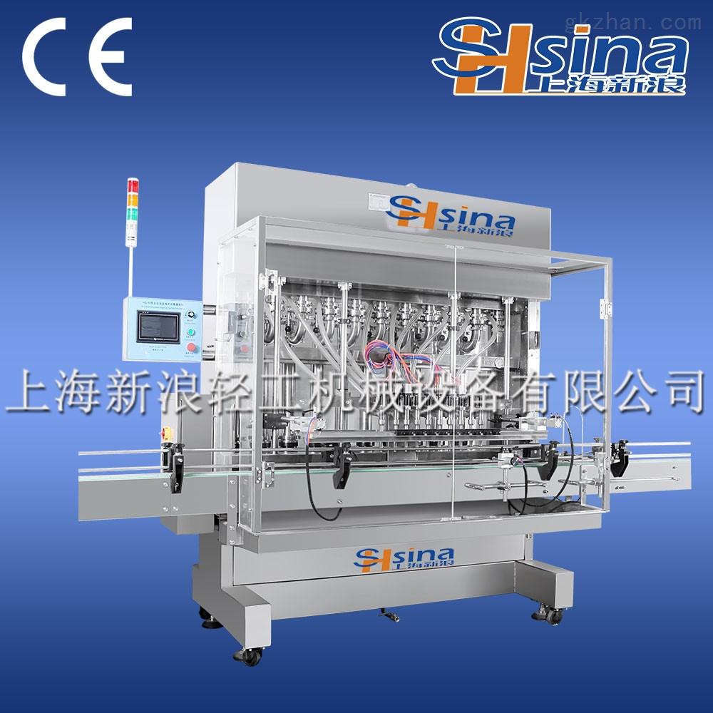 6头全自动膏体灌装机高精度高效率稳定性强