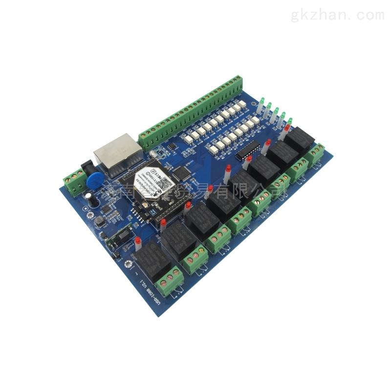 供应网络继电器8入8出光耦隔离USR-IO88