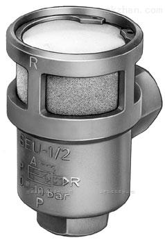 FESTO 快速排气阀SEU-1/2带消声器