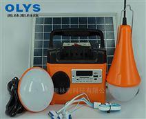 太阳能小系统,多功能便携式发电照明设备