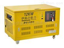 伊藤动力YT12RGF大型移动式三相汽油发电机