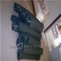 江西帆布粉颗粒输送伸缩布袋厂家价格