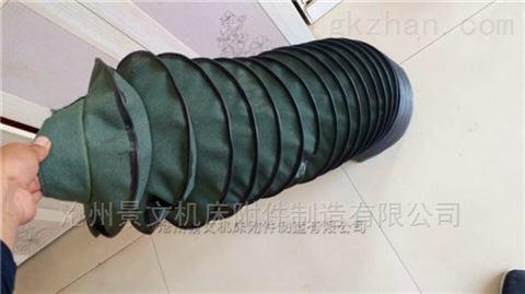 橡胶布拉链式油缸伸缩防尘罩厂家报价