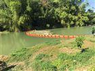 河道水草拦污浮筒 拦污排厂家批发