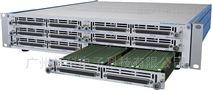 LXI 2U模块化矩阵机箱6槽