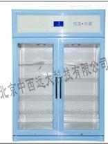 中西立式双门冷藏柜 型号:828L