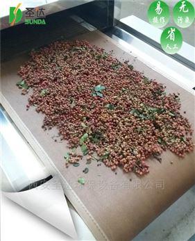西安大红袍花椒微波干燥机西安圣达造