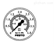 FESTO面板式压力表代号:8037009