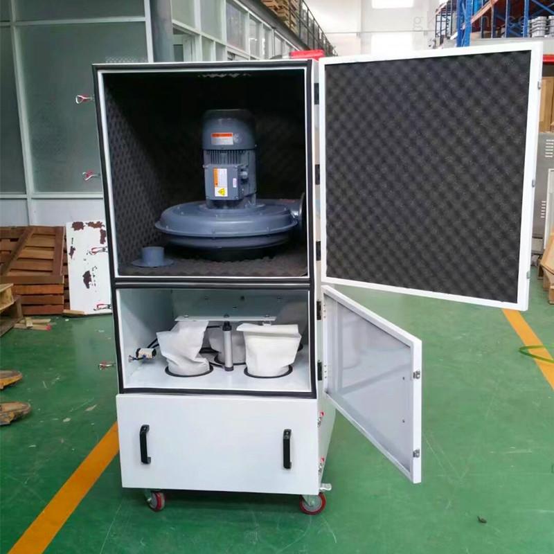 机械抛光粉尘收集器2.2kw布袋式集尘机