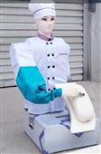 高配版廚師型刀削面機器人