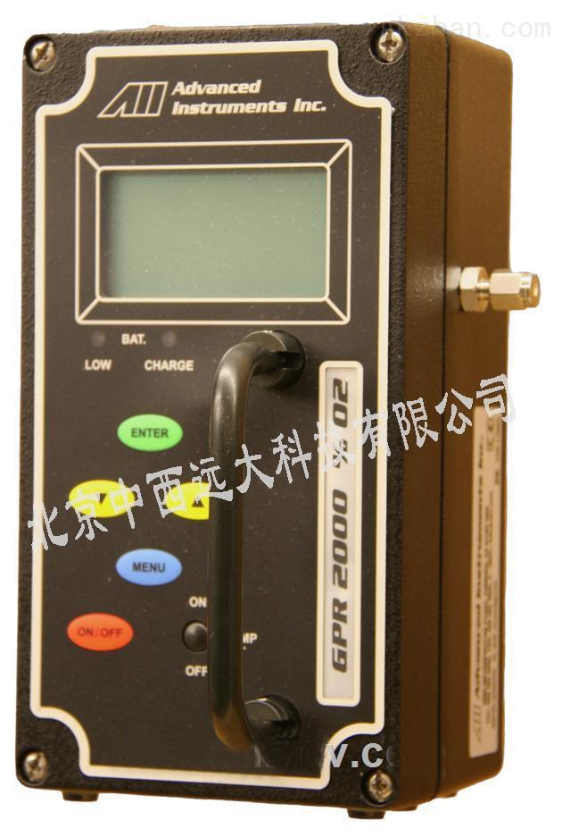 中西便携式常量氧分析仪型号:JS/GPR-2000