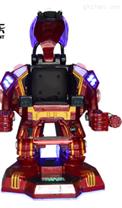 钢铁侠广场行走机器人