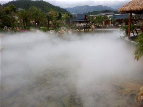 景观喷雾设备的优势 雾景系统使用效果
