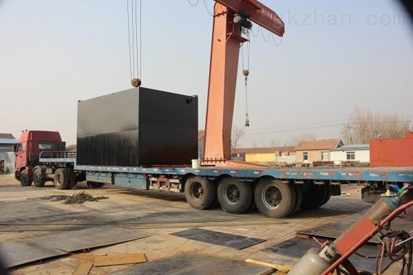 新疆和田集装箱污水处理设备工程案例