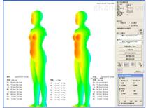 cousette体型分析系统