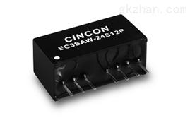 3W小功率电源EC3SAW-48S33P EC3SAW-24D05P