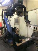 安川机器人DX100弧焊基板不起弧维修
