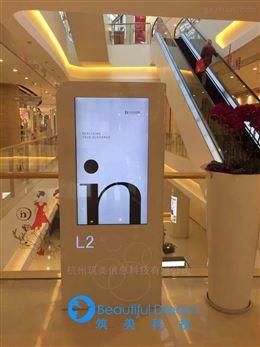 筑美科技智能商场导视屏系统