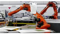 国辰纺织工业专用设备布料自动取放机器人