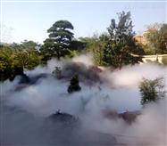 假山人造雾设备