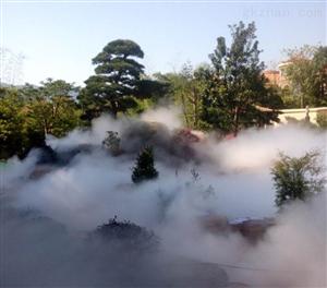 假山人造霧設備