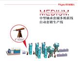 轴承套圈多联机自动单锻生产线,锻造自动化