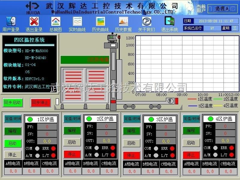 热处理集散控制系统专用软件