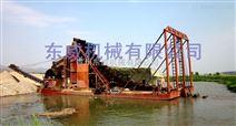 潍坊选金设备链斗式淘金船哪里买价格实惠