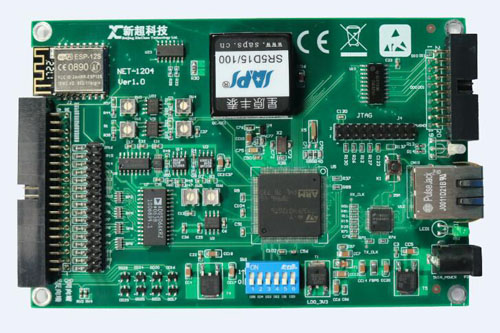 重磅!新超仁達推出NET-1204物聯網無線數據采集卡