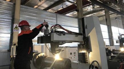 包头首例激光熔覆设备加工产线正式投产