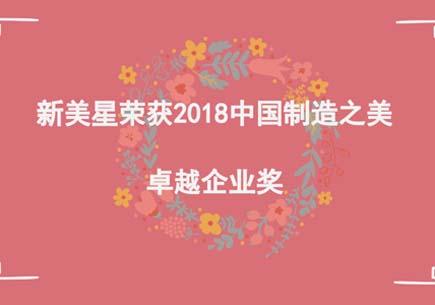 新美星荣获2018中国制造之美卓越企业奖