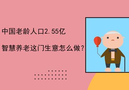中国老龄人口2.55亿,智慧养老这门生意怎么做?