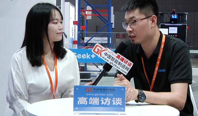 極智嘉:爭做機器人智能物流領域的專家